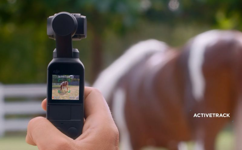 osmo pocket mobile active track