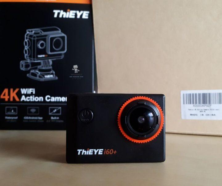 recensione thieye 4k i60+ action cam