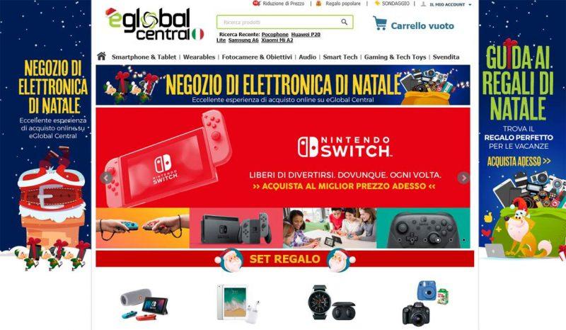 7c5bbff17361 Eglobal Central tratta articoli di elettronica e tecnologia di vario genere  a prezzi incredibili. Ultimamente. Siti acquisti Online ...