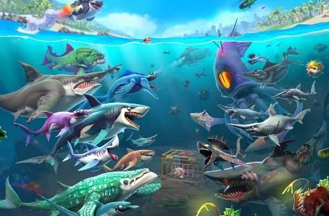 Trucchi Hungry Shark World-2