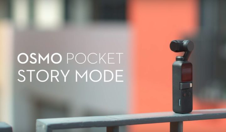 come usare osmo pocket story mode-video