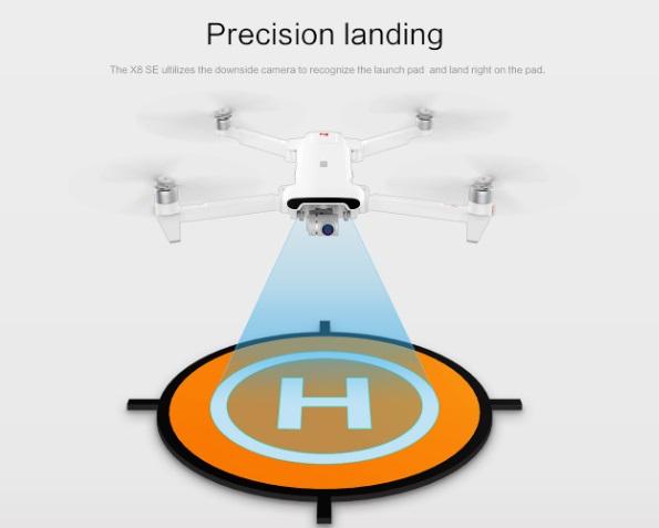 fimi x8 se precision landing