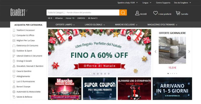 best cheap 429a0 58b2b Shopping Online Siti Cinesi. Elenco e Consigli | InfoDrones.It
