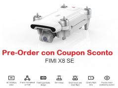 xiaomi fimi x8 se in pre-order con coupon sconto