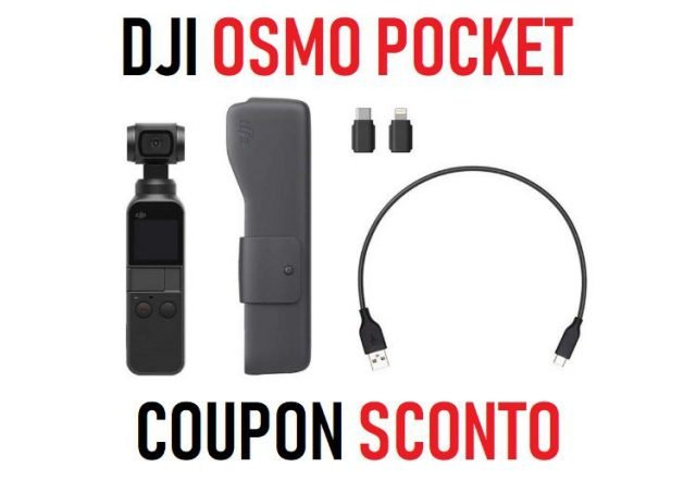 DJI Osmo pocket coupon sconto banggood