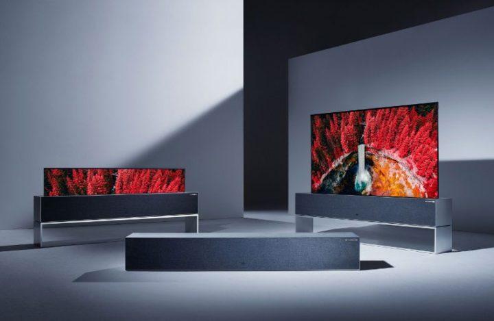 LG Signature Oled TV R-ces 2019 las vegas