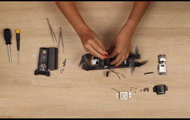 come riparare il parrot anafi-video tutorial