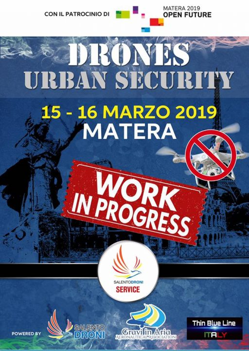 drones urban security 2019