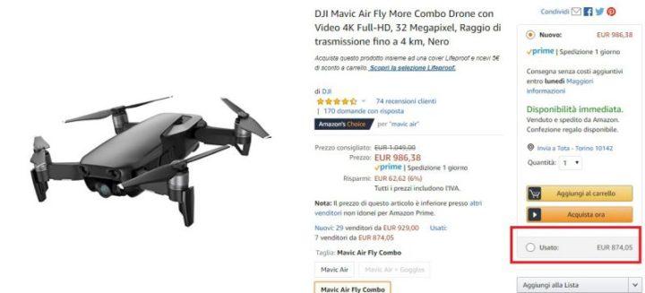 droni usati garantiti-amazon