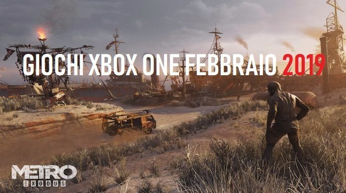 giochi xbox one febbraio 2019
