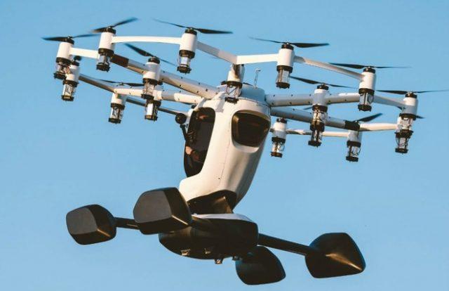 hexa drone passeggeri