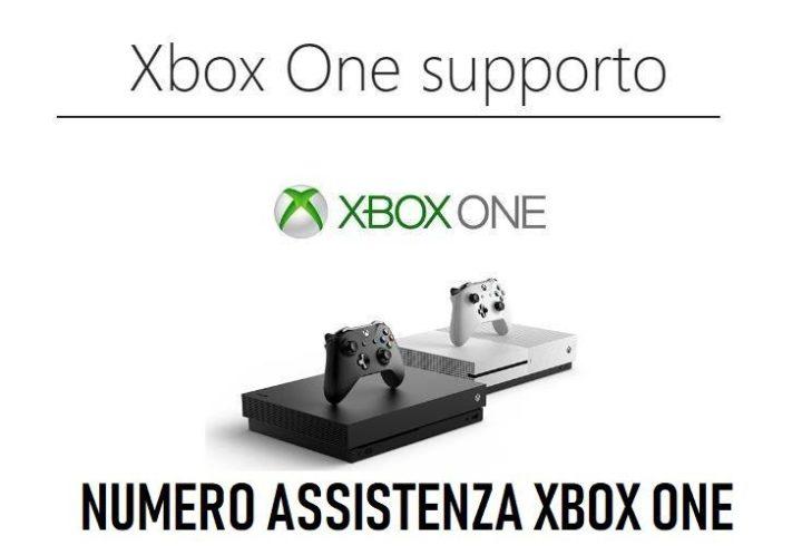 numero assistenza xbox one
