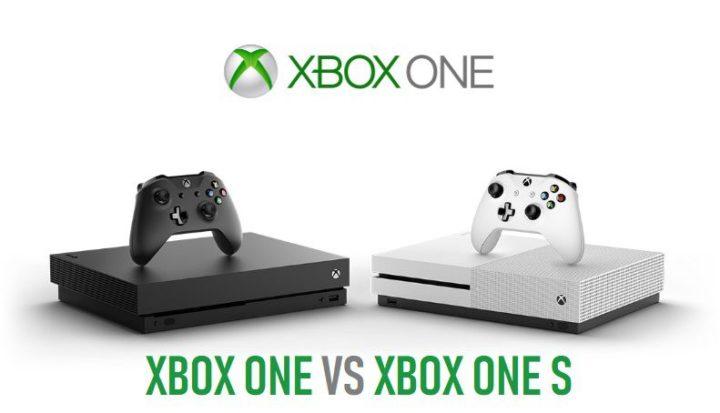 xbox one VS xbox one s