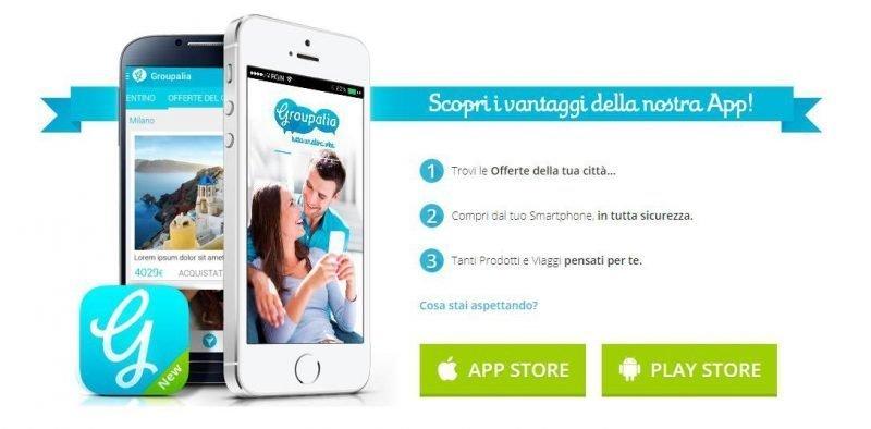 Groupalia Groupon app