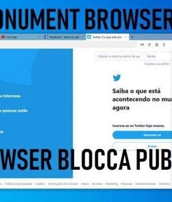 Monument Browser cos'è