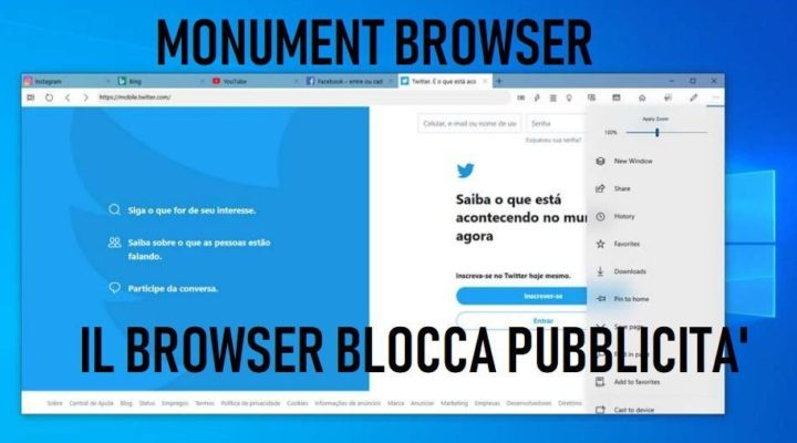 Monument Browser cos'è