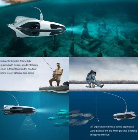 drone impermeabile-Powervison power ray