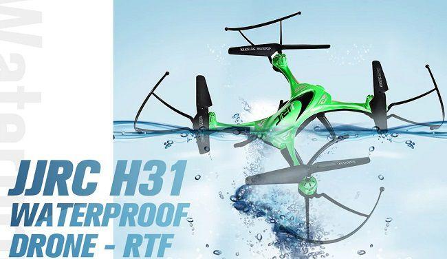 drone impermeabile-jjrc h31