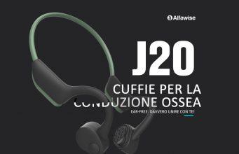 Alfawise J20 Cuffie Bluetooth 5.0 su Gearbest