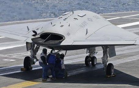 Northrop Grumman X-47B Drone-2
