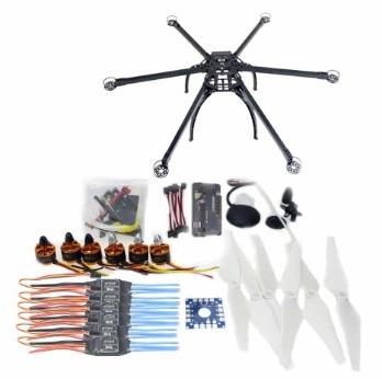 com'è fatto un drone