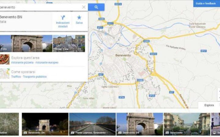come tracciare un percorso su google maps 1