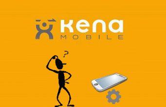 configurazione kena mobile su android