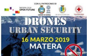 drone urban security 2019-matera