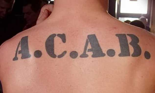 significato tatuaggio acab