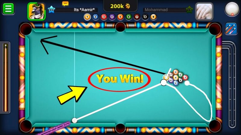 trucchi 8 ball pool 2