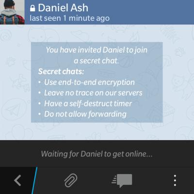 come funziona la chat segreta di telegram 1