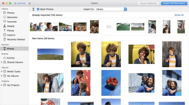 come trasferire foto da iphone a pc -3
