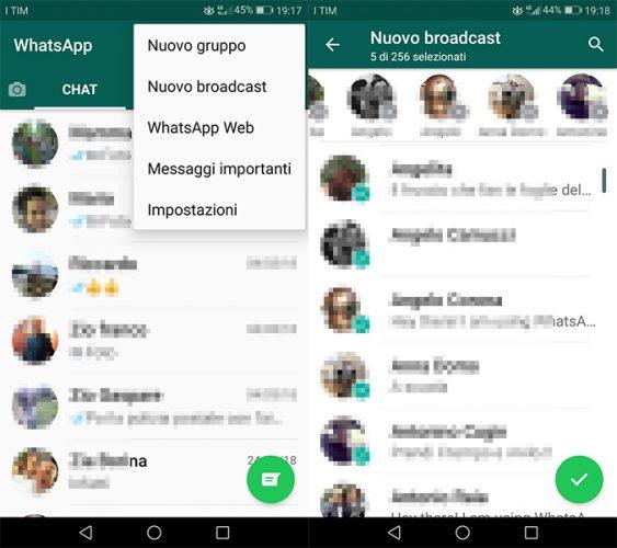 come inviare un messaggio a tutti i contatti su whatsapp -2