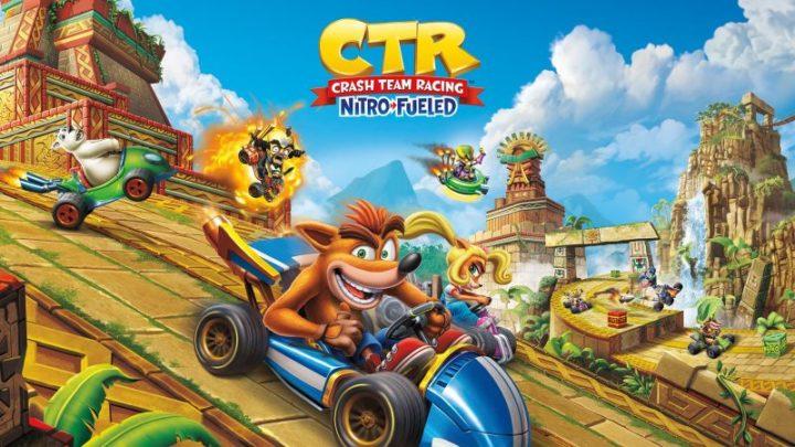 crash team racing nitro fueled personaggi