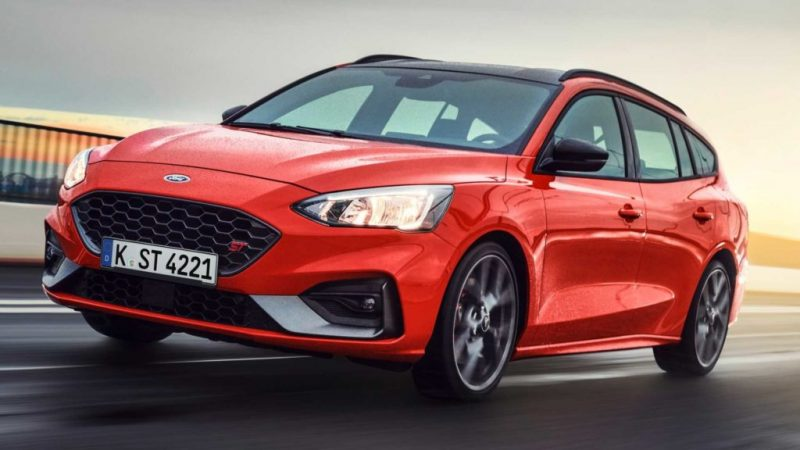 ford focus st wagon 2019 -2