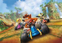 Crash Team Racing Nitro Fueled gameplay