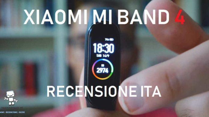 Xiaomi mi band 4 recensione italiana completa