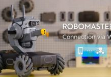 come connettere robomaster s1 all app