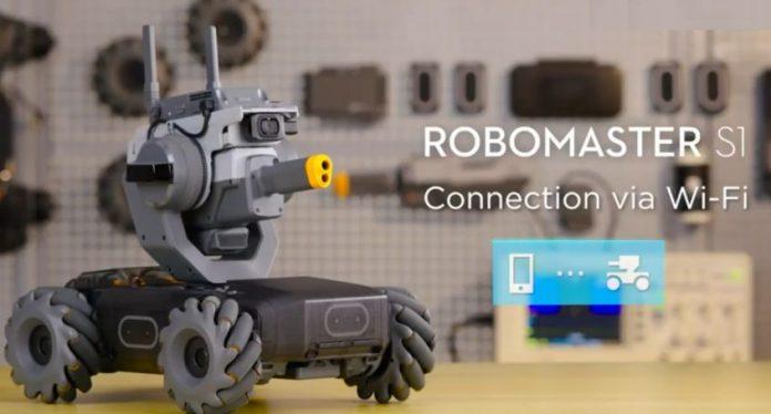 come connettere robomaster s1 all app