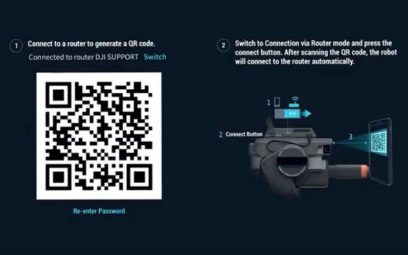 come connettere robomaster s1 all app-video