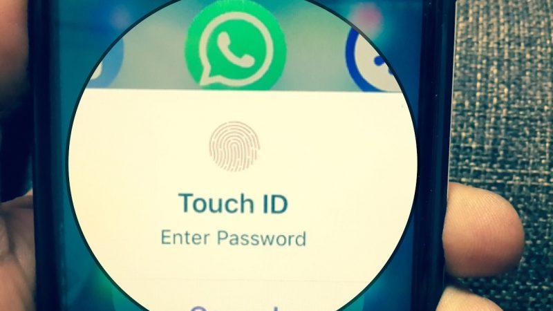 come mettere il Touch ID su WhatsApp -2