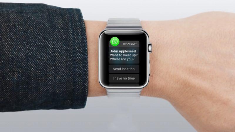 come mettere whatsapp su apple watch -2