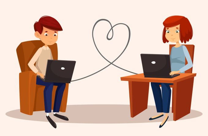 dating online -3