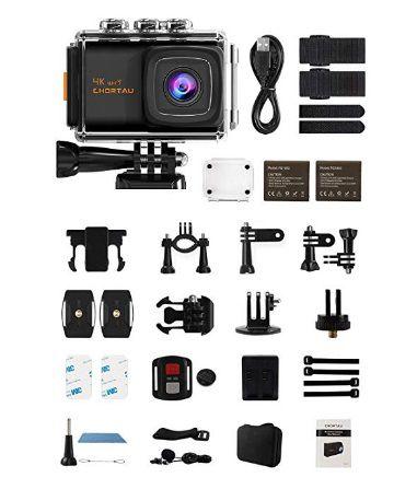 CHORTAU 4k action cam