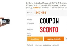 Coupon dji osmo action su banggood