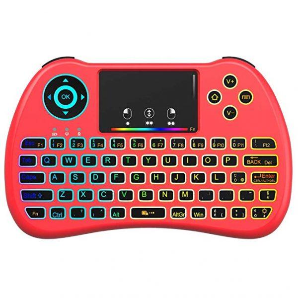 QPAU mini tastiera retroilluminata