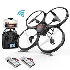 migliori droni sotto i 100 euro-DBPOWER U818A