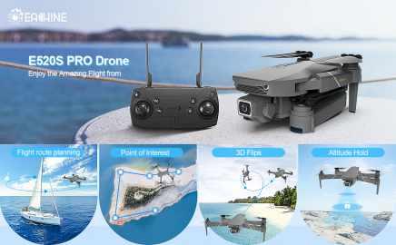 migliori droni sotto i 100 euro-eachine e520 pro