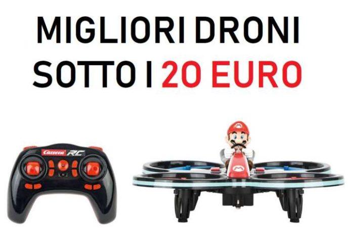 migliori droni sotto i 20 euro-classifica