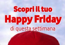 Vodafone Happy Friday 5 luglio 2019